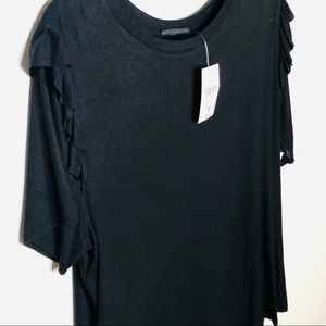 Forever 21 black womans shirt size 3X. NWT.